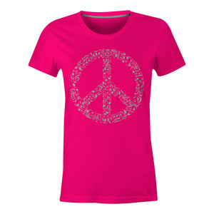 Rhyme In Peace - Ladies T-Shirt