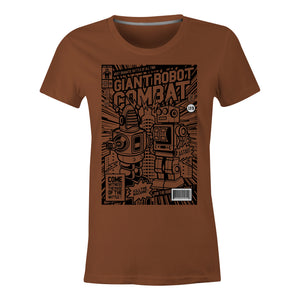 Giant Robot Combat - Ladies T-Shirt