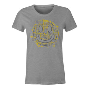 Electric Smiley - Ladies T-Shirt