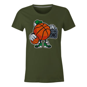 Street Basketball - Ladies T-Shirt