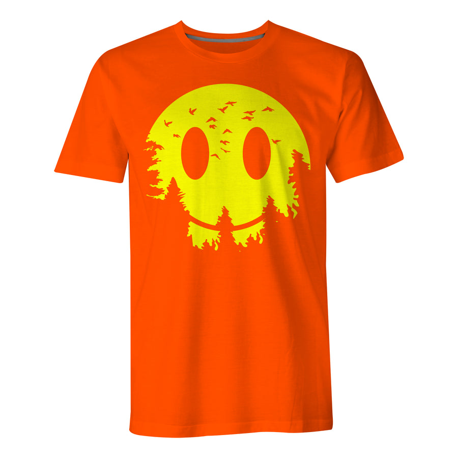 Smiley Moon - Mens T-Shirt