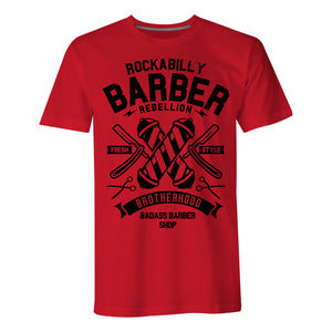 Rockabilly Barber - Mens T-Shirt