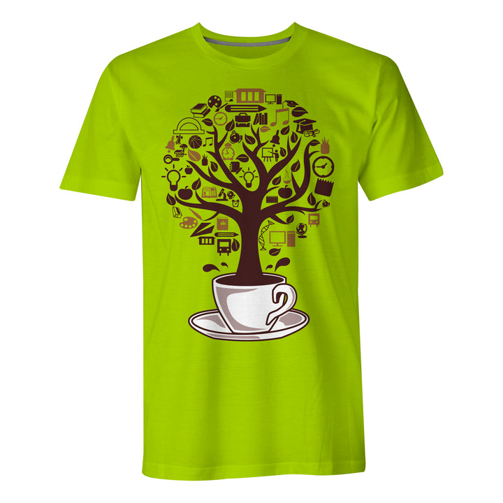 Coffee Tree - Mens T-Shirt