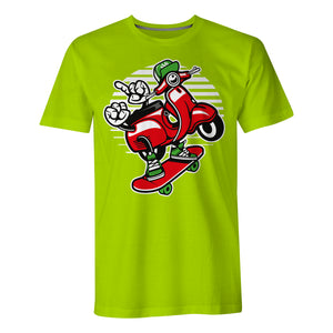 Scooter Skater - Mens T-Shirt