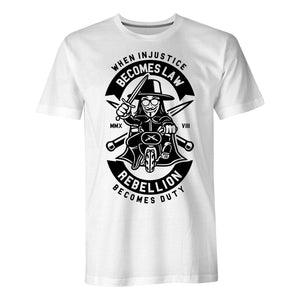 Rebellion Becomes Duty - Mens T-Shirt