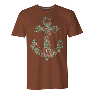Electric Anchor - Mens T-Shirt