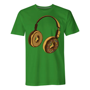 Headphone Donut - Mens T-Shirt