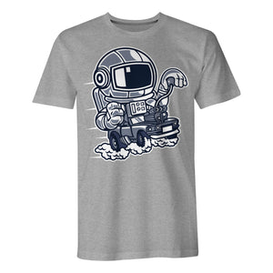 Space Racer - Mens T-Shirt