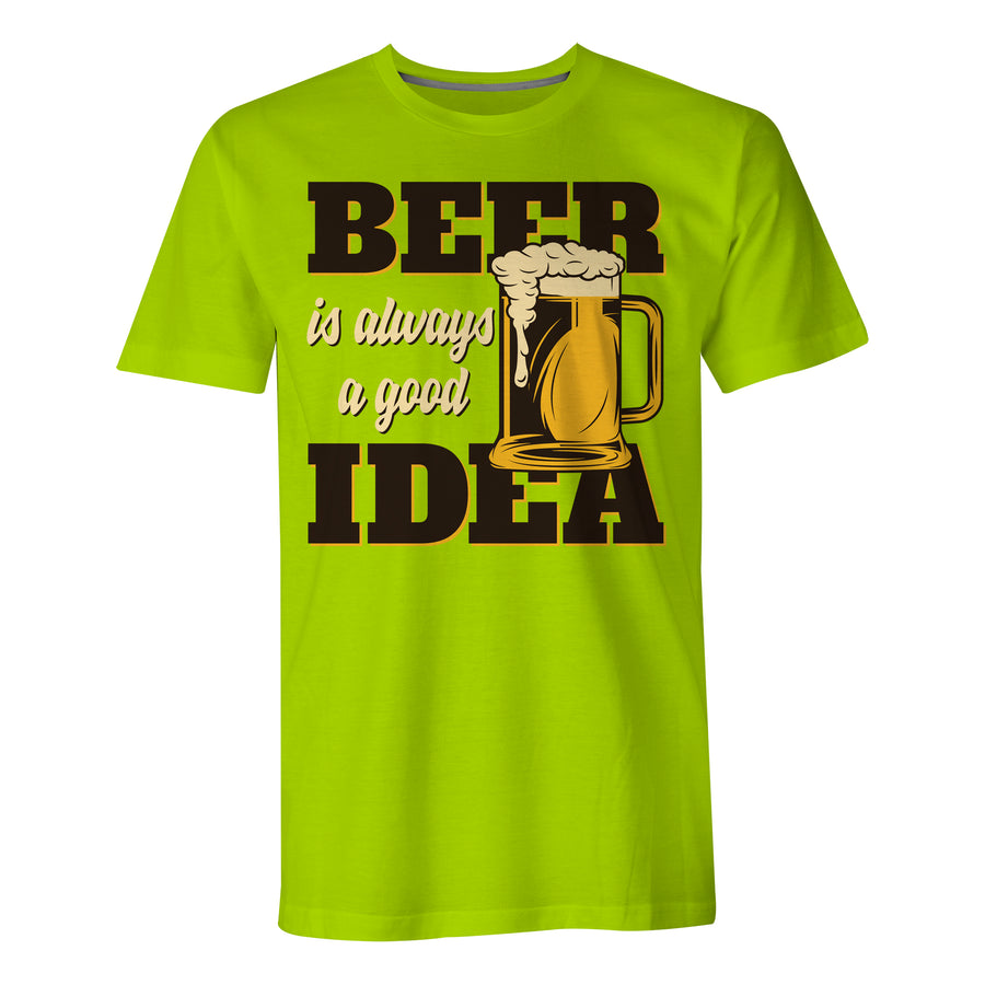 Beer Is A Good Idea - Mens T-Shirt