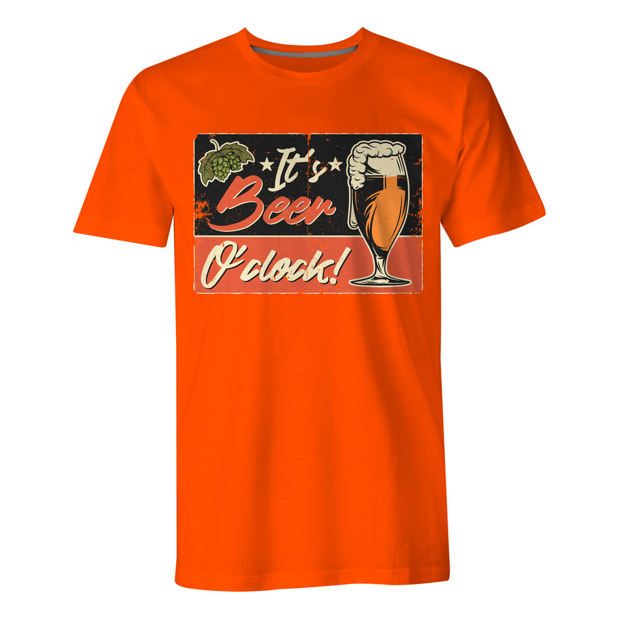 It's Beer O'clock - Mens T-Shirt