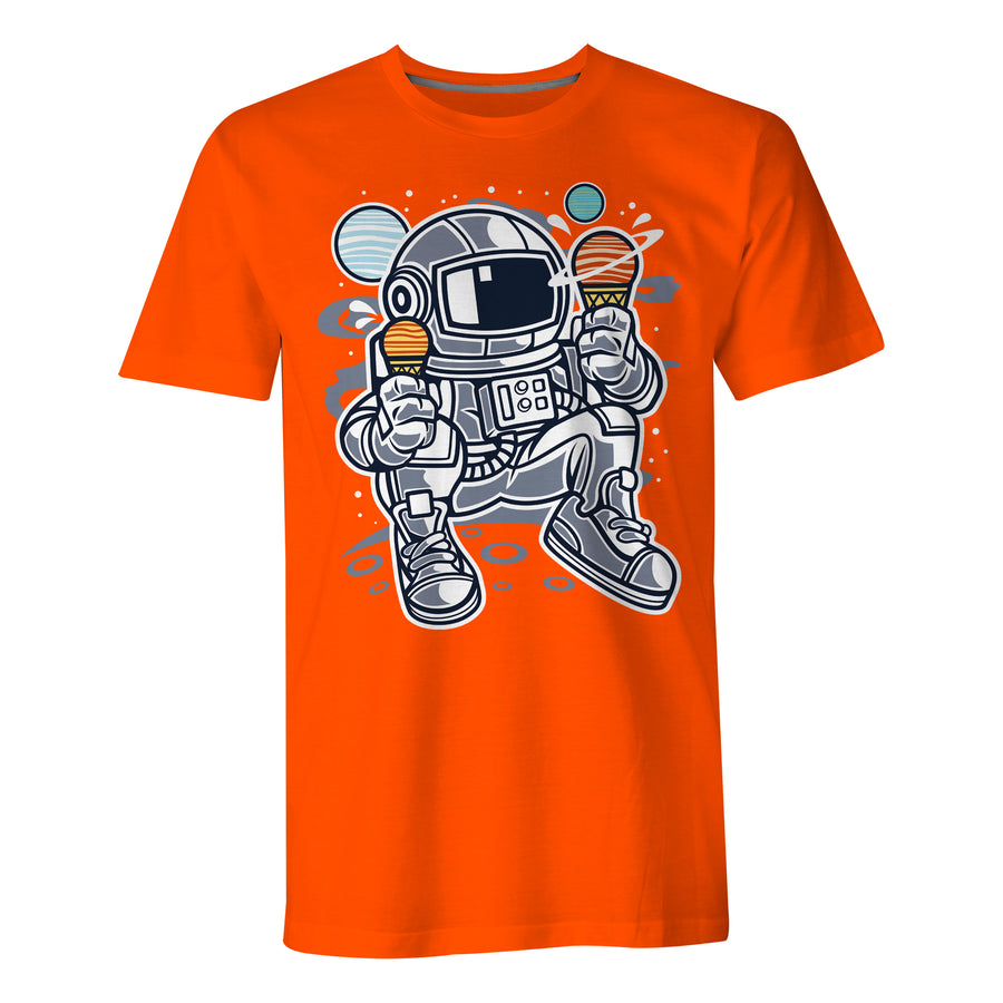 Astronaut Ice Cream - Mens T-Shirt