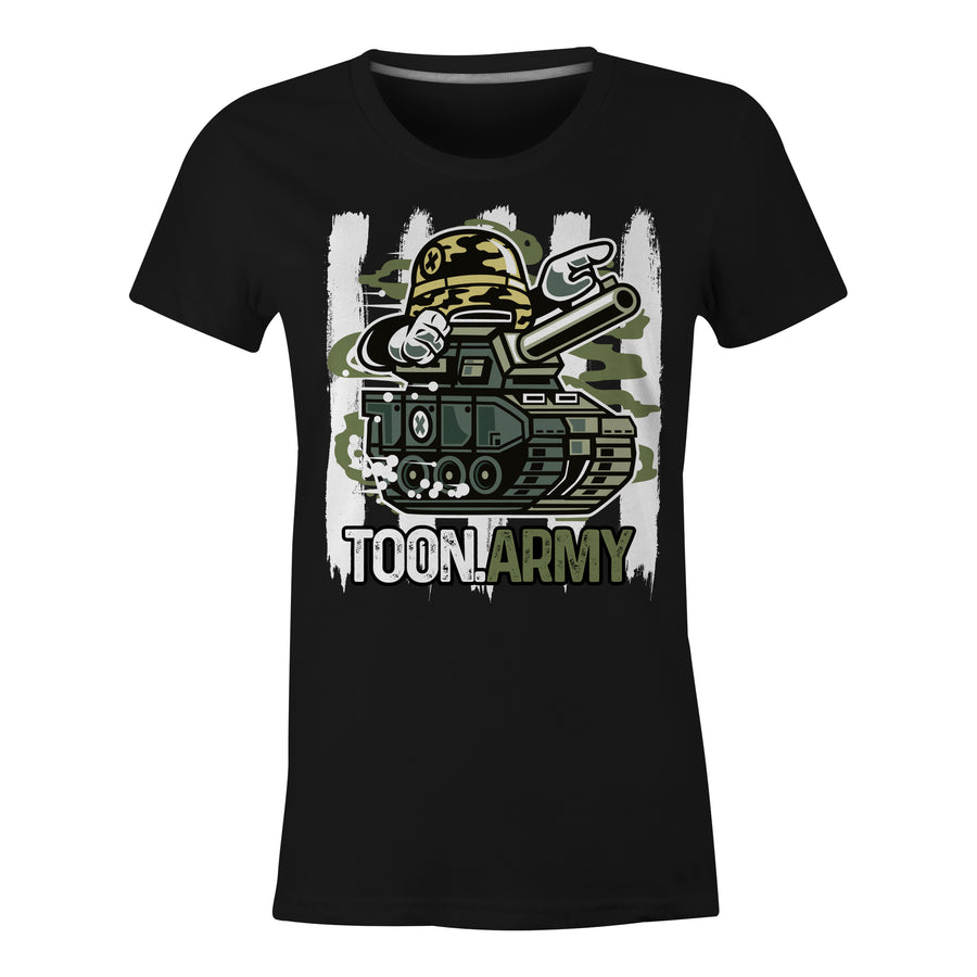 Toon Army Graphic - Ladies T-Shirt