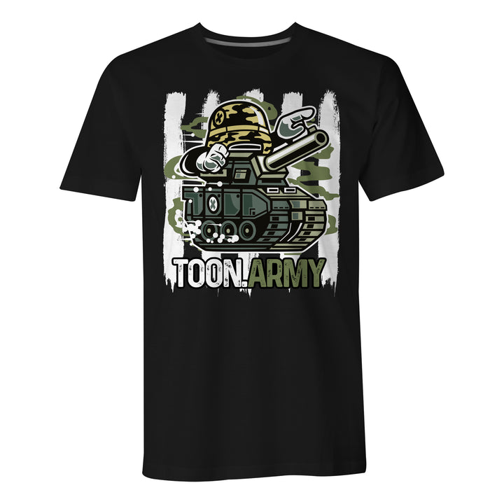 Toon Army Graphic - Mens T-Shirt