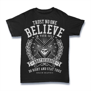 Trust No One - Mens T-Shirt