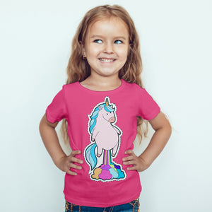 Unicorn Fart - Kids T-Shirt