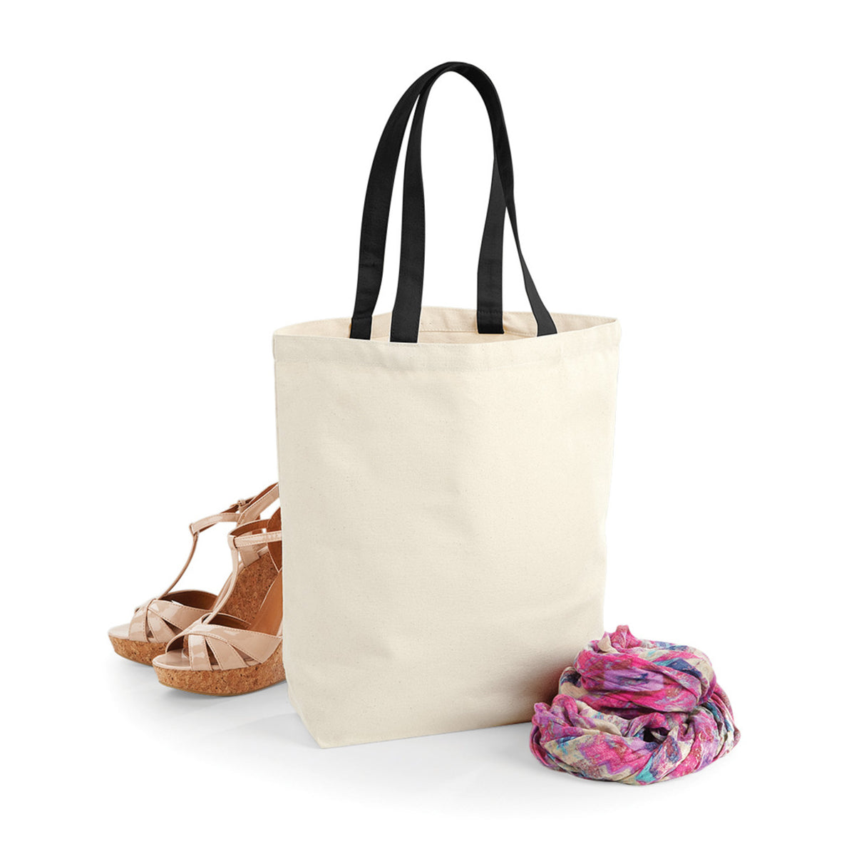 Premium Fairtrade Cotton Shopper