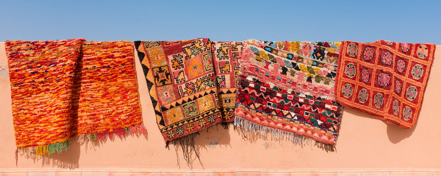 Moroccan Rugs - Vintage Tribal and Berber