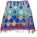 Vintage Azilal Tribal Art Rug