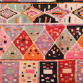 Rare 1950s Boujad Tribal Art Rug
