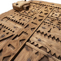 Antique 18th century granary door from Morocco