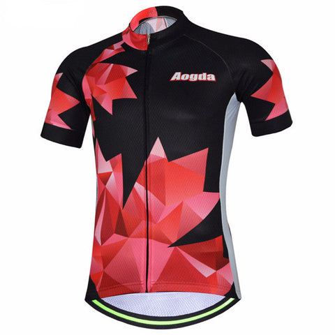 Aogda Torn Men's Short Sleeve Cycling Jersey in 6 Sizes