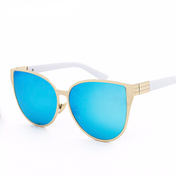 Light Frame Cat Eye Sunglasses in 9 Colors
