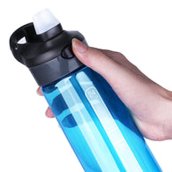 Sports Water Bottle With Straw  700 ml