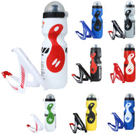 750 ml Bicycle Water Bottle With Holder in 8 Colors - JoshuaTreeDepot