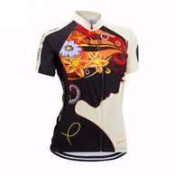 Zero Bike Lady Women's Short Sleeve Cycling Jersey in 4 Sizes - Joshua Tree Depot