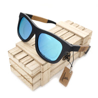 Customized Polarized Bamboo Wood Sunglasses