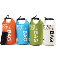 2-liter Dry Bag in 4 Colors