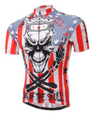 Xintown Skull King Men's Short Sleeve Cycling Jersey in 6 Sizes