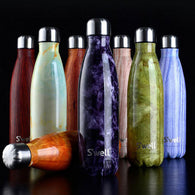 Thermos Flask Water Bottle 500 ml in Stainless Steel in 8 Designs