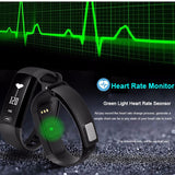 M2 Fitness Watch With Heart Rate & Blood Pressure in 3 Colors