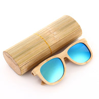 Contemporary Polarized Bamboo Wood Sunglasses in 18 Styles