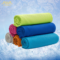 3 Piece Lot Of Microfiber Cooling Towel 100 x 30 cm or 90 x 30 cm in 6 Colors