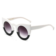 Heavy  Frame Cat Eye Sunglasses in 6 Styles