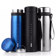 Thermos Flask Water Bottle 900 ml in Stainless Steel in 6 Designs - Joshua Tree Depot