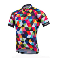 Weimostar Pied Men's Short Sleeve Cycling Jersey in 8 Sizes