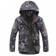 ReFire Gear Black Snake  Lurker Shark Soft Shell Hooded Tactical Jacket in 8 Sizes - Joshua Tree Depot