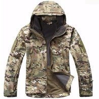 ReFire Gear CP Lurker Shark Soft Shell Hooded Tactical Jacket in 8 Sizes - Joshua Tree Depot