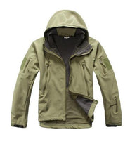 ReFire Gear Green Lurker Shark Soft Shell Hooded Tactical Jacket in 8 Sizes - Joshua Tree Depot