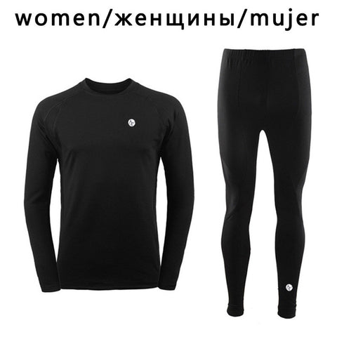 Thermal Base Layer For Cycling, Camping, Hiking, Fishing, Etc. For Both Men and Women. Sizes Small To 2XL. - JoshuaTreeDepot