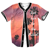 Live Life To The Fullest Baseball Jersey