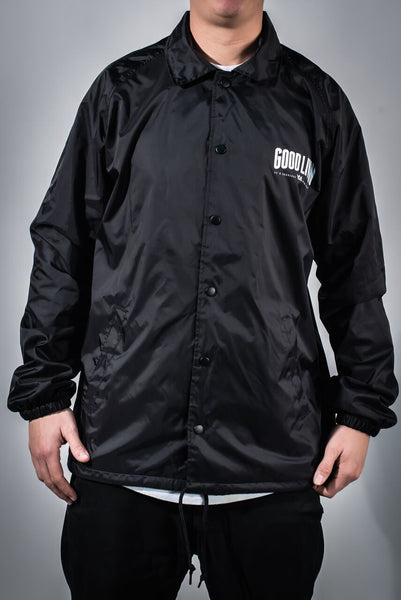 Black The Illest Coaches Jacket