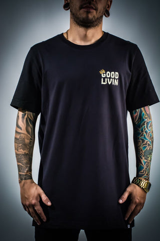 Black Smoke God Tee