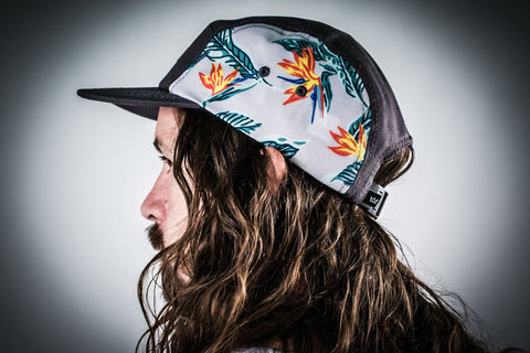 Light Floral Scout Hat