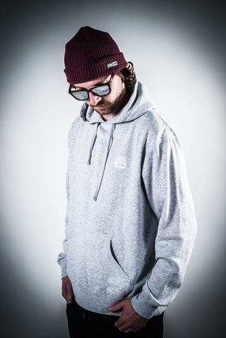 Heather Grey Logo Driven Hoodie