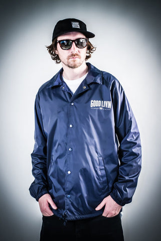 Navy The Illest Coaches Jacket