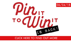 Pin It To Win It | 2018 Pinterest Giveaway